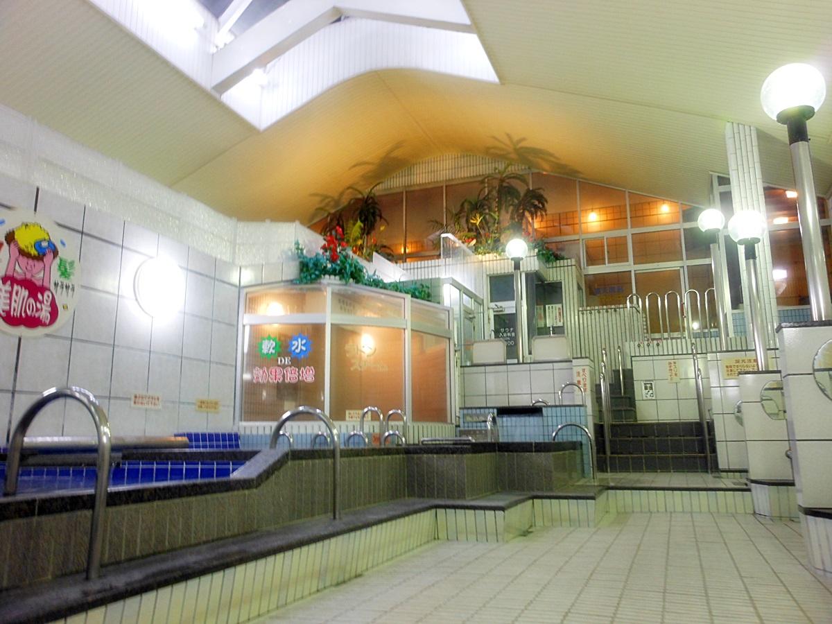 大型公衆浴場 錦温泉 大駐車場完備