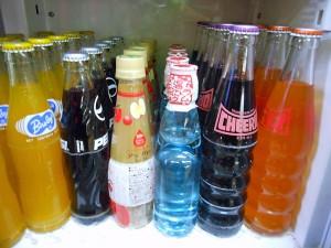 レアな瓶ジュースを豊富にご用意しております。