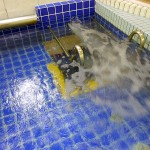 座湯・半身浴で健康的に入浴できる設備