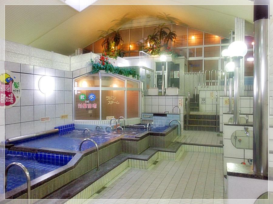 各種健康入浴設備満載!錦温泉